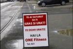 Reclama la o sală de fitness! :))
