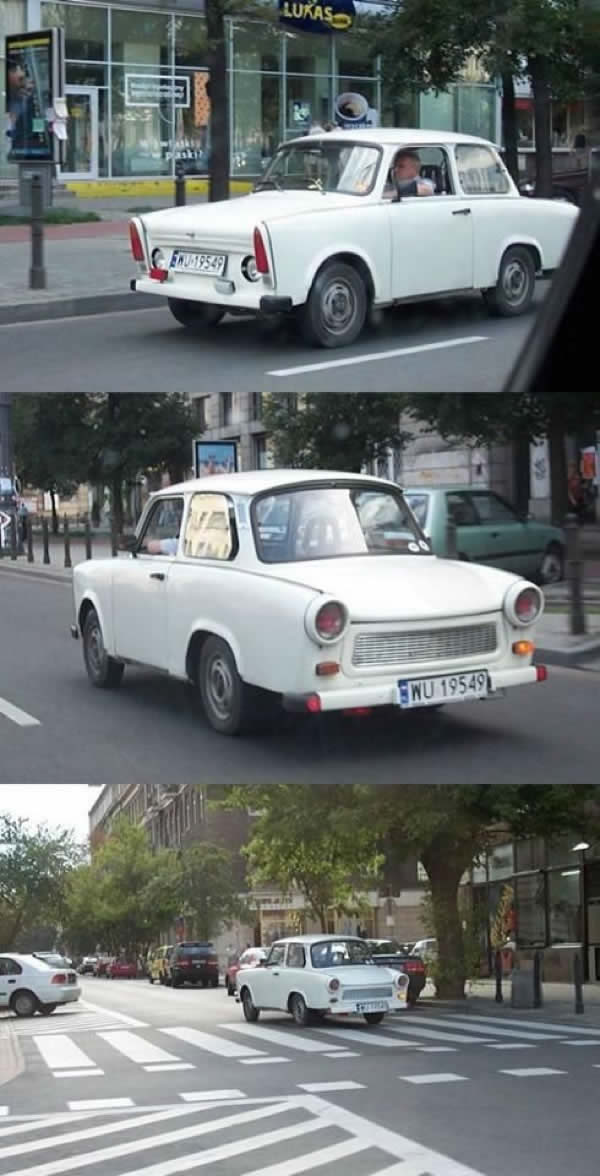 trabant modificat