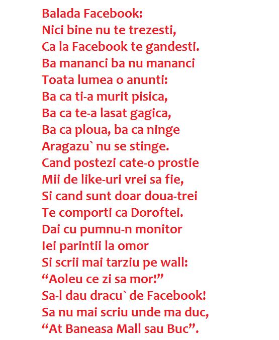 balada facebook