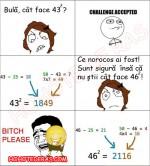 Bulă geniu la ora de matematică! :))