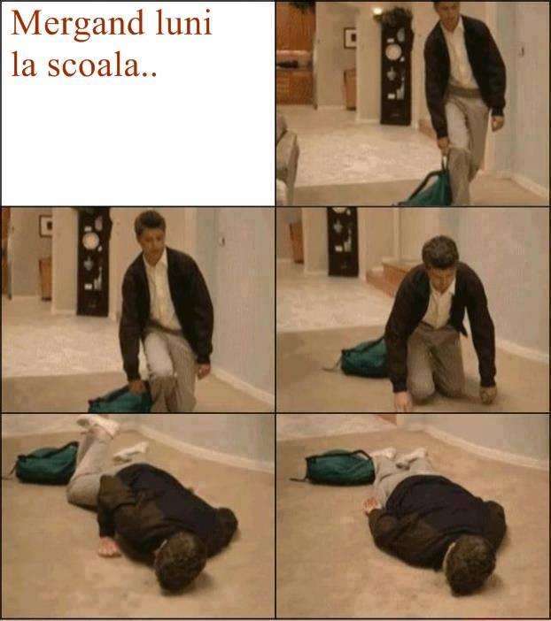 cum voi merge luni la scoala