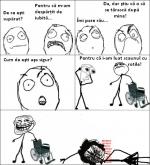 De ce eşti supărat?