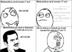 Evoluţia matematicii în viaţa noastră! :))