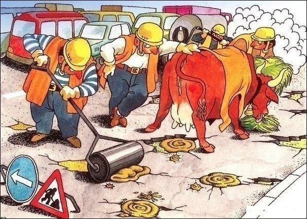 In sfarsit Ponta a gasit solutia pentru a ne scapa de gropi!