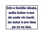 Într-o familie ideală… :))