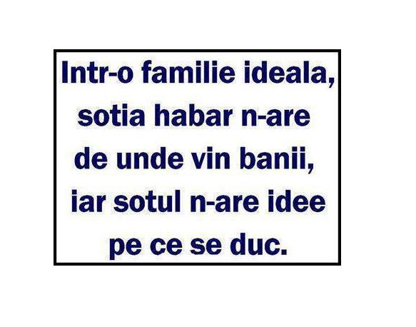intr-o familie ideala