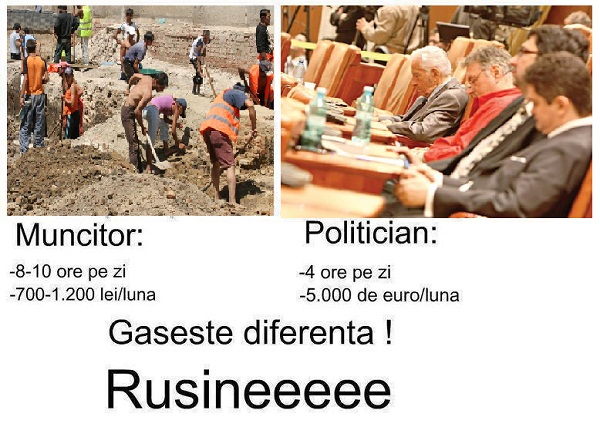 politician vs muncitor