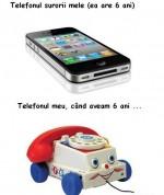 Telefonul. Trecut vs Prezent :))