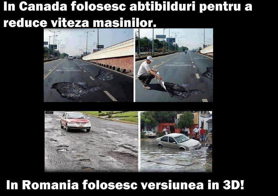 diferenta dintre Canada si Romania
