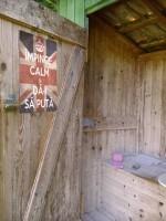Prea tare mesajul de pe uşa WC-ului! :)))