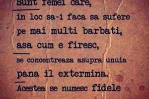 definitia femeii fidele