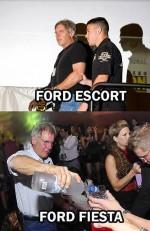 diferenta dintre ford escort