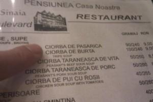meniu apetisant pentru romani