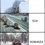 Deszapezirea in SUA si Japonia vs deszapezirea in Romania =))))