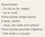 BANC – Blondele şi magia