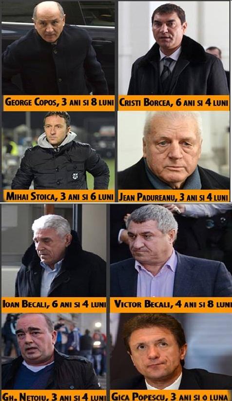 greii fotbalului romanesc