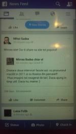 Gadea se cearta cu limba romana :))