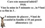 Sigur nu stii care e numarul iubirii :))