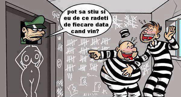 Gardian vs deţinut, la închisoare :))